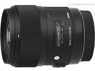 Sigma 35mm f/1.4 DG HSM Art - Canon-Obiective p/u Canon-Sigma