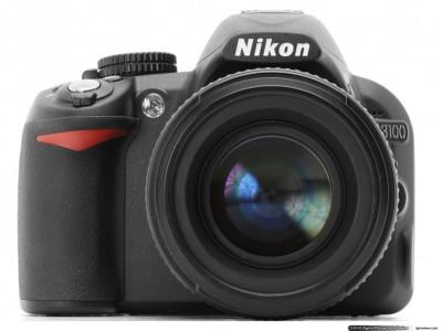 Nikon D3100+18-55mm-Aparate Foto Nikon-