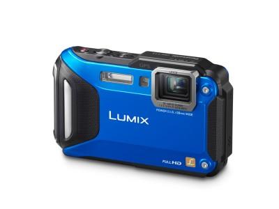 Panasonic Lumix DMC-FT5A albastru-Pentru Vacanta-Panasonic