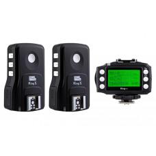 Pixel King Pro Full - transmitator + 2x receptoare pentru Nikon